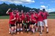 The winners of the softball tournament